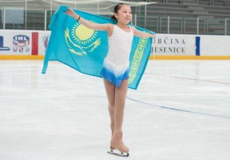 Элизабет Турсынбаева в 15 лет дебютировала в фигурном катании