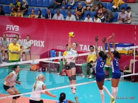 Волейболистки из Казахстана смогли одержать победы во всех играх Гран-при в Талдыкоргане