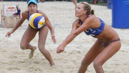 Спортсменки из Казахстана пробились в 1/16 финала мирового первенства по пляжному волейболу