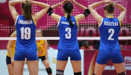 Волейболистки из Казахстана будут играть на втором этапе Мирового первенства