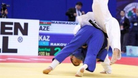 Дзюдоист из Казахстана Максим Раков занял второе место на Гран-при в Китае