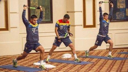 Румынские футболисты тренируются в отеле «Rixos»